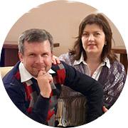 Николай и Елена Ежовы